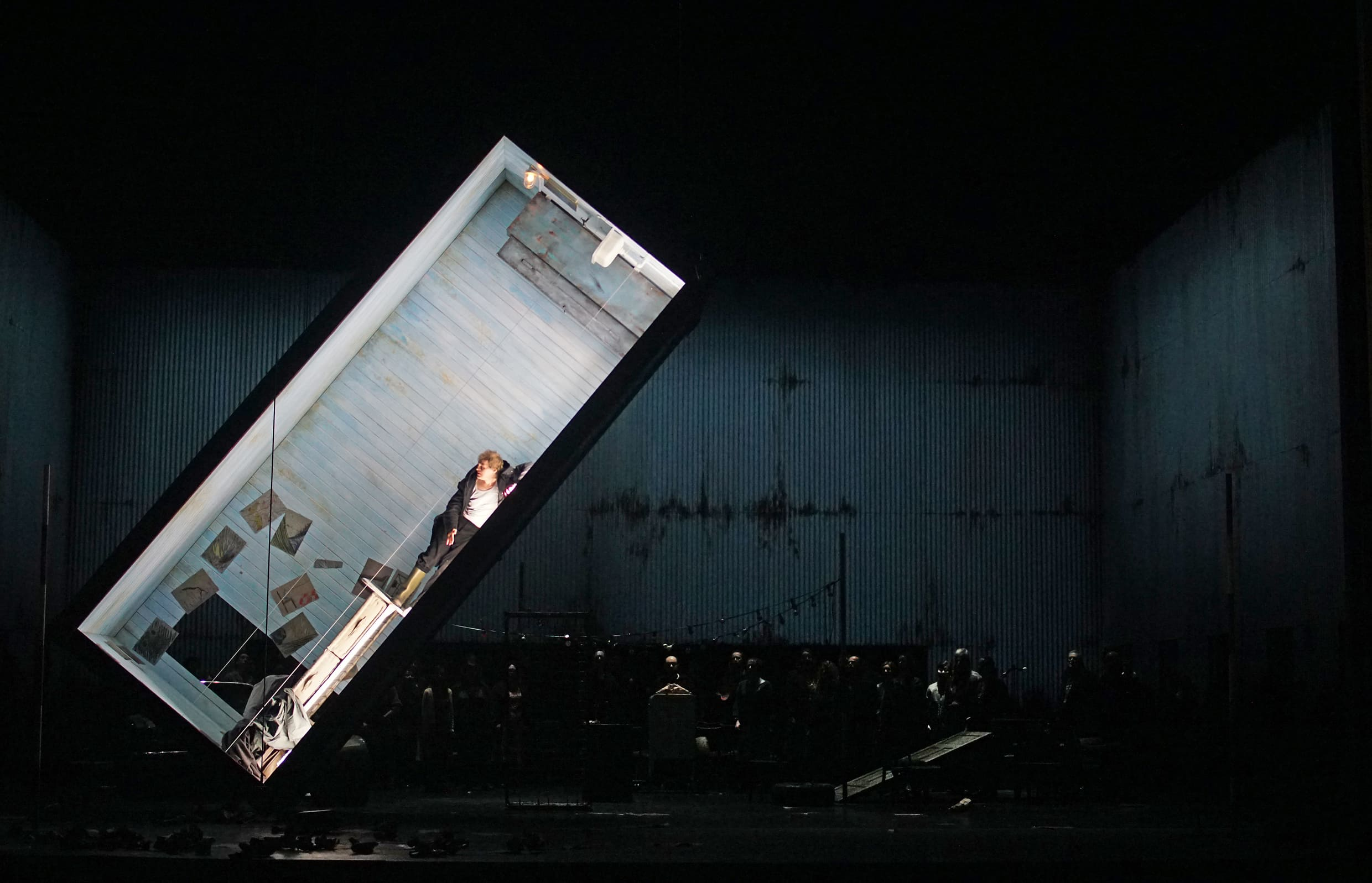 Peter Grimes in the box